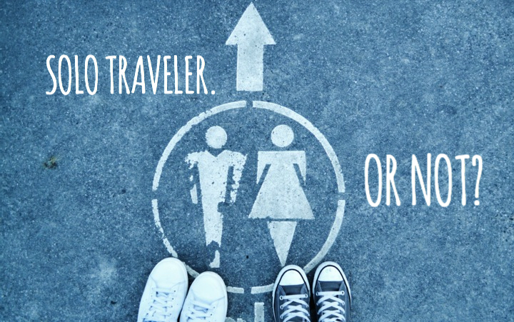 Are you a solo traveler?